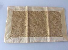 ❤️NEU!!!    Deckchen | Tischset | Organza gold (3 St. vorhanden)