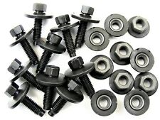 Body Bolts & Barbed Nuts For Subaru M6-1.0mm Thread- 22mm Long- Qty.10 ea.- #396