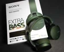 Sony XB950N1 NOISE CANCELLING EXTRA BASS WIRELESS HEADPHONES Bluetooth, GREEN