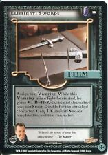 Buffy TVS CCG Limited Class Of 99 Common Card #12 Eliminati Swords