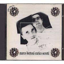 MARCO BERTONI ENRICO SEROTTI - Omonimo - CD 1991 NEAR MINT CONDITION