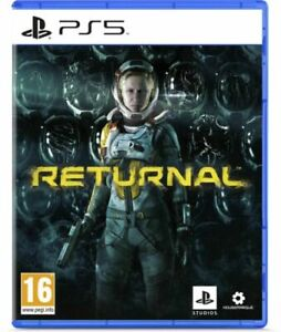 Returnal PS5 Brand New & Sealed Free UK P&P no english back cover Eng game