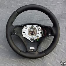 VOLANTE in Pelle per BMW e81 e82 e87 e88 e90 e91 e92 e93. STEERING WHEEL NEW covered