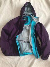 Trespass Chaqueta para mujer escudo tres Transpirable púrpura y Turquesa Abrigo-medio