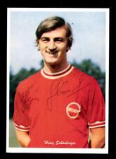 Heinz Schönberger Autogrammkarte Kickers Offenbach Spieler 70er Jahre Orig Sign