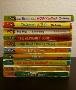 Lot Of 10 Bright And Early Mini Board Books - Dr. Seuss