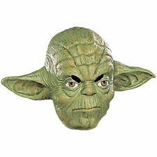 Mens Adult Star Wars Deluxe Yoda 3/4 Overhead Vinyl Costume Mask