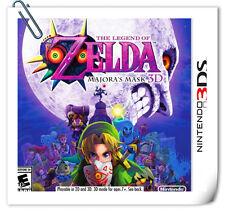 3DS Nintendo  The Legend of Zelda: Majora's Mask 3D RPG Nintendo