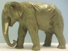 Old Large Waxy Plastic Miller Elephant for Hunting Jungle Set - Animal Hunt