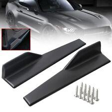 Brillo Negro 2Pcs 45cm Rocker Panel Divisor De Falda Para Ford Grand Tourneo Connect