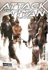 Attack on TITAN 29 by Hajime Isayama 9783551799494  
