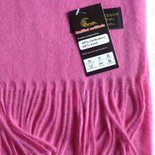 e5419d5805ac Écharpes et châles foulard rose avec des motifs Cachemire pour femme ...