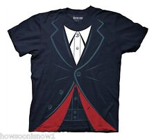 WHOLESALE LOT OF 11 Doctor Who 12th Dr Navy T-Shirt Mens Jacket Party Costume Lg