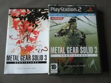 METAL GEAR SOLID 3 SUBSISTANCE ( PLAYSTATION 2 - SONY ) COMPLET
