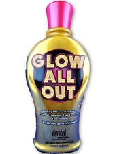 Devoted Creations GLOW ALL OUT BB Cream Dark Bronzer Tanning Bed Lotion 12.25 oz