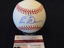 RON DAVIS Signed / Autographed Official Major League BASEBALL JSA COA Yankees