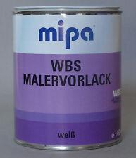 WBS  Mipa Malervorlack 0,750  Liter  Grundierung weiß