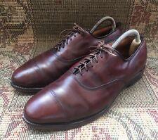 Allen Edmonds Park Avenue Burgundy Toe Balmoral Men's Size USA 8.5 D || Uk7.5