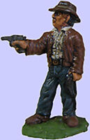 Archaeologist with Pistol and Dunwich Detectives Cthulhu 28mm Unpainted Wargames
