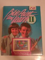 "Bible Paint and Learn II 3.5"" Floppy Disk Computer Game Paint Read Listen"