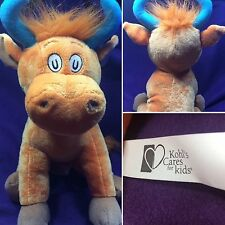 "Kohl's Cares Dr. Seuss Mr. Brown Can Moo Orange Cow 12"" Plush Stuffed Animal"