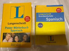 Wörterbücher Deutsch-Spanisch (2 Verschiedene).