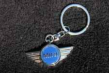 Mini Cooper Design Key Chain - Key Ring - Metal - 3d - Free Fast Shipping - NEW