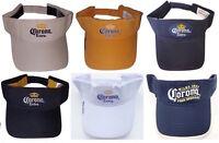 Corona Beer Visor Adjustable Sun Visor - Choose Color / Beer Logo