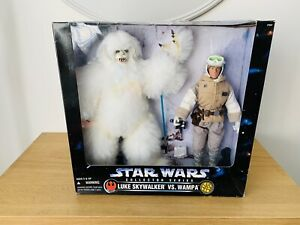 1997 HASBRO STAR WARS THE KENNER COLLECTION LUKE SKYWALKER VS. WAMPA BOXED