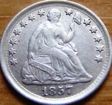 USA Silver Half Dime 1857
