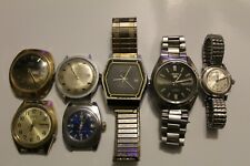 Vintage Mens & Womens Watch Lot Seiko, Timex, Accutron, Geneva