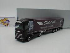 "Herpa 932073 - Scania CS HD Gard.-Sattelzug LKW "" Stelzl Transporte "" 1:87  NEU"