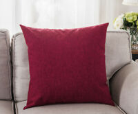 Cotton Linen Pillow Case Sofa Waist Throw Cushion Pillow Cover Home Decor DHG16