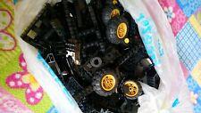 LEGO 20 x Connecteur Technique Croix Noir Black Double Cross Bloc 32184 4121667
