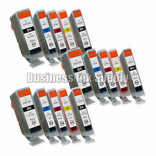 15 New Ink Cartridges For Canon CLI8 PGI5 Pixma MP830