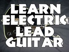 Learn Electric Lead Guitar DVD Lessons Rock Blues Country THIS IS THE ONE TO GET