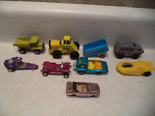 Matchbox and others Cars / Parts Lot of 9 Pieces