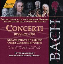BACH-CONCERTI-PETER WATCHORN-BWV 972-987-Hanssler 2CD