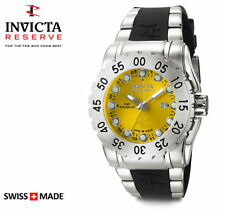 Invicta 6648 Reserve Swiss Made GMT Men's WR 500M Diver Watch $1395 NEW RARE