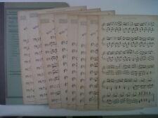 small band parts PAUL LINCKE Makiris Hochzeit Ouverture