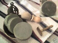 GENT'S Rejuventating Rosemary Mint Shaving Body VEGAN Soap Handmade
