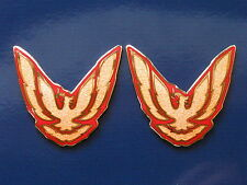 87-92 Pontiac Firebird Trans Am GTA Sail Panel Badge Pair (11 colors)