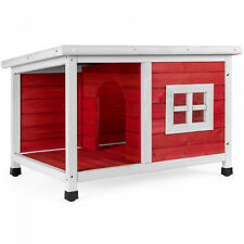 All-Weather Pet House w/Divider, Lid Roof