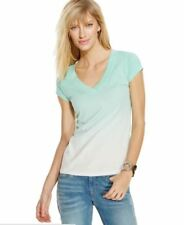 Inc International Concepts Reverse Ombre Top SweetMint Size Medium Retail $29.50