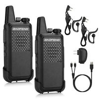 Baofeng GT-22 Handheld 1500mAh Mini Walkie Talkie FRS Two-Way Radio Business Use