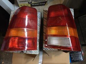 Lights Rear Right Left Opel Kadett (E) - Genuine New