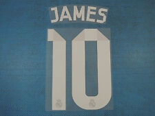 Spanish La Liga 2014-2015 Real Madrid #10 James Awaykit NameSet Printing