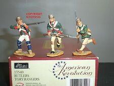 Britains 17540 révolution américaine esclaves tory rangers metal toy soldier set