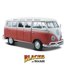 Maisto 1:25 Scale Volkswagen Type 2 T1 Split Screen Samba Van,Bus Diecast Model