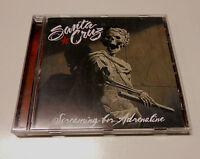"Santa Cruz ""Screaming for adrenaline""  Scandi  band cd 2013 Spinefarm Records"
